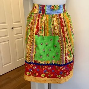 NWOT Colorful Apron One Size S-XL